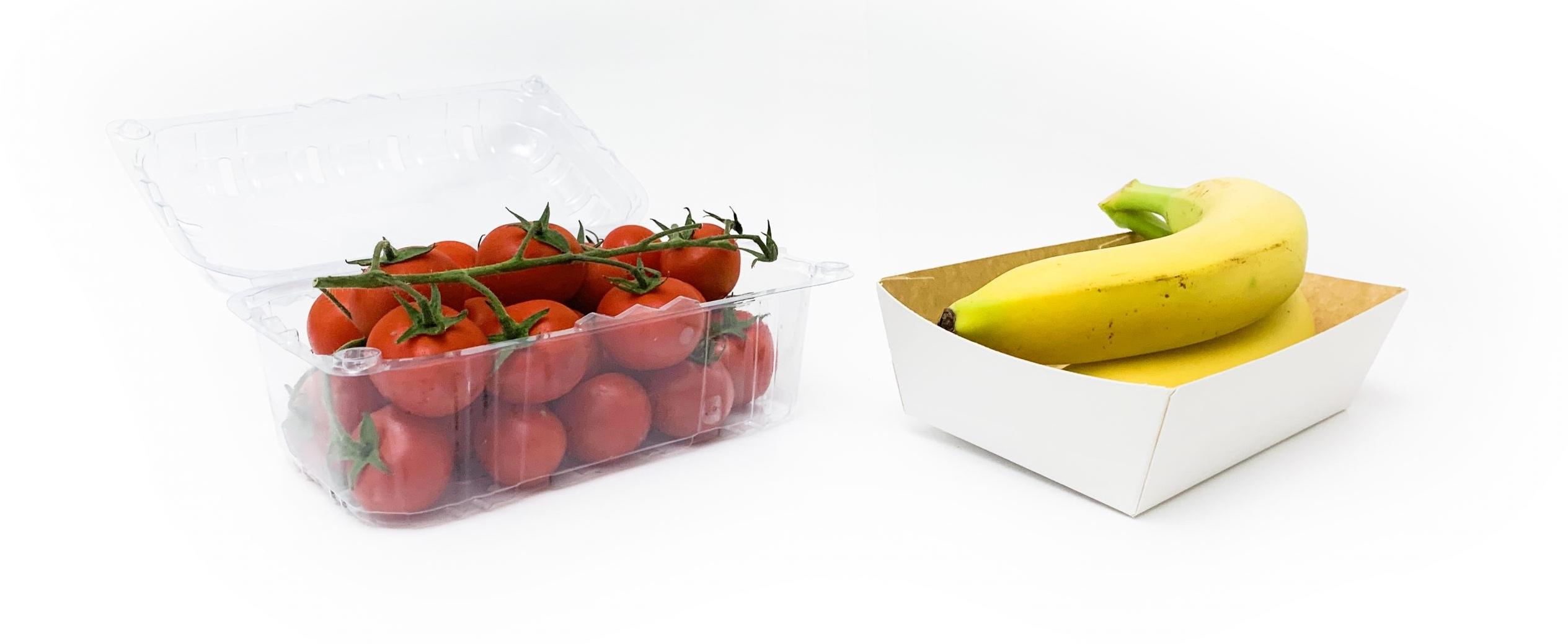 short Tomatoes bananas
